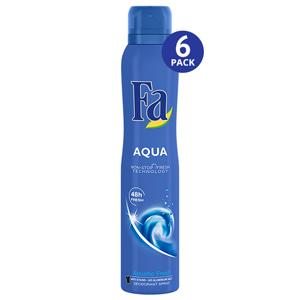 Aqua Large - 6 Pack