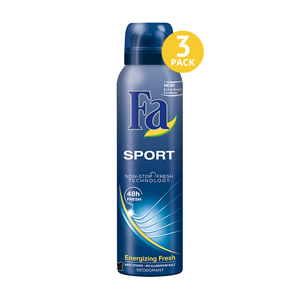 Sport - 3 Pack