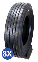 Barkley Set of 8 Tire Special