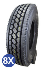 Cargo Miler Set of 8 Tire Special